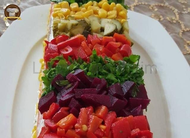 Yoğurtlu Etimekli Salata