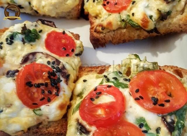 Kahvaltılık Ekmek Dilimleri Yapımı
