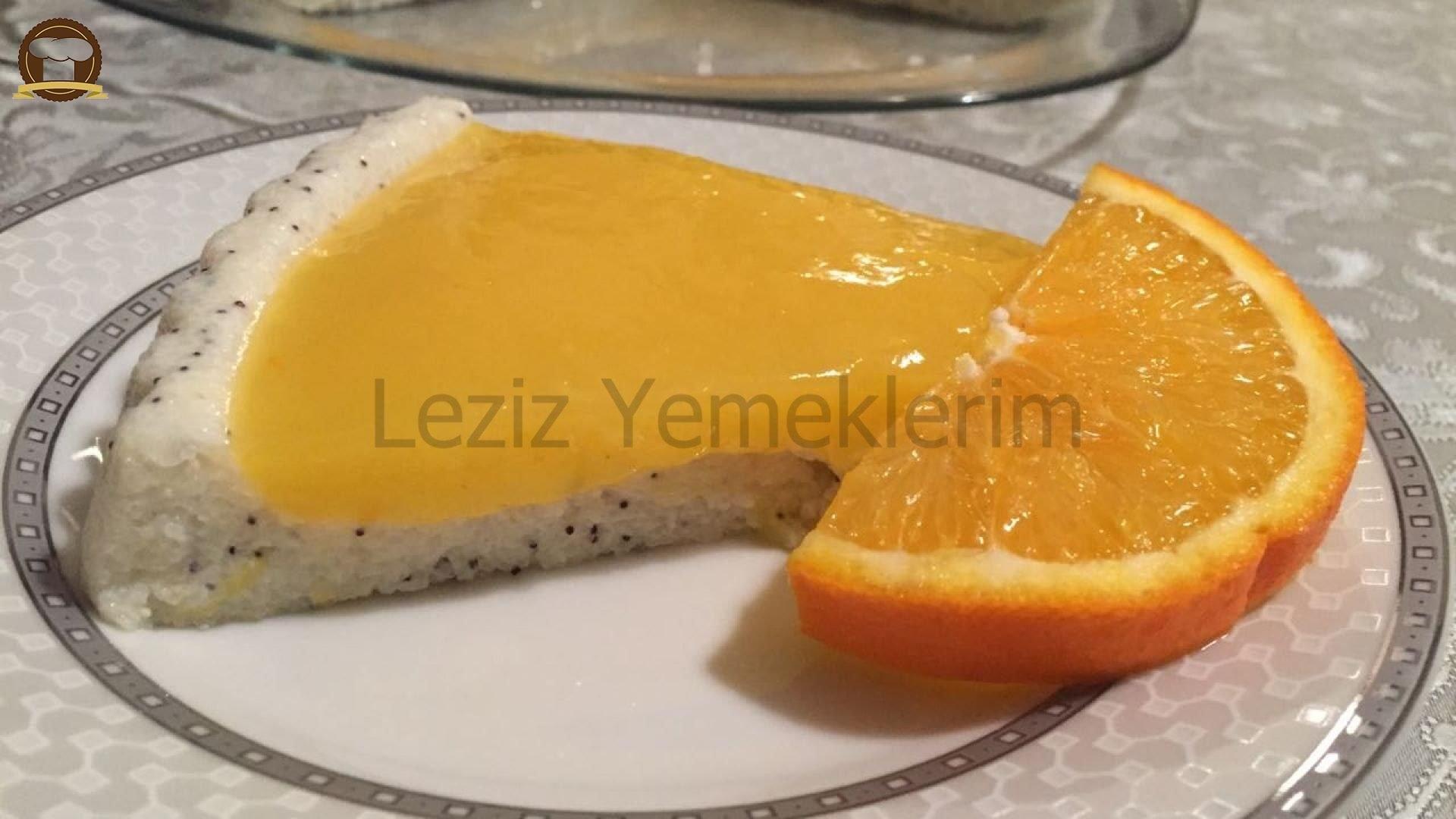Portakal Soslu Muhallebili Etimek Tatlısı Tarifi – Sütlü Tatlı Tarifleri