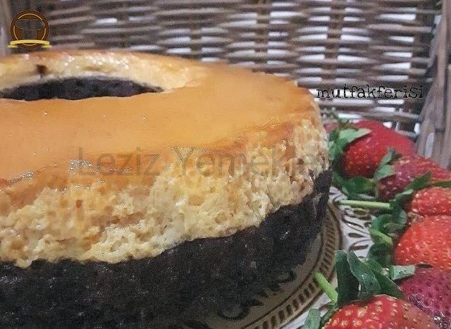 Krem Karamelli Kek Yapılışı