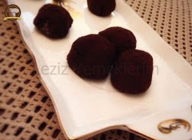 Kakaoya Bulanmış İrmik Topları