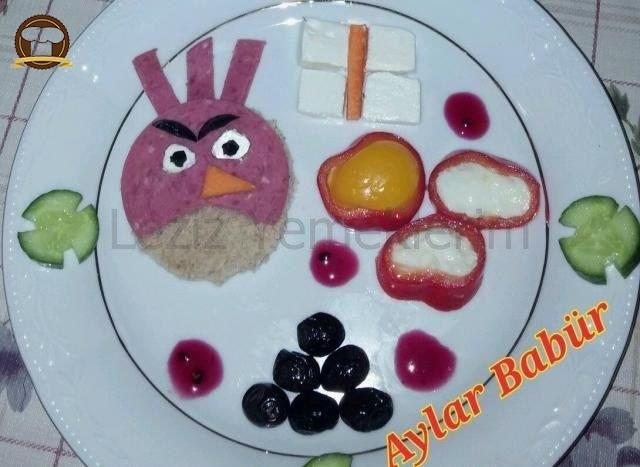 Çocuklar İçin Angry Birds Kahvaltısı