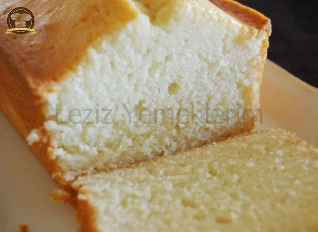 Yumurtasız Limonlu Kek