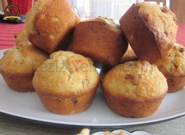 Sütsüz Yumurtasız Üzümlü Kek