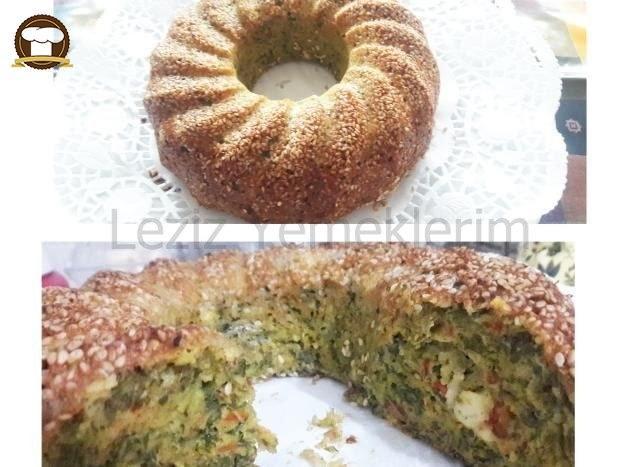 Pazılı Tuzlu Kek