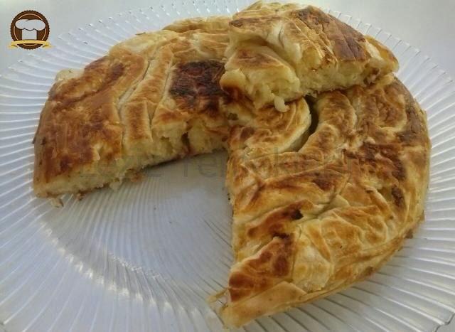 Tavada Peynirli Börek