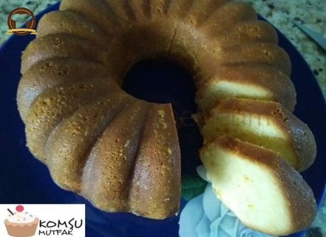 Pirinç Unu Ve Portakallı Islak Kek