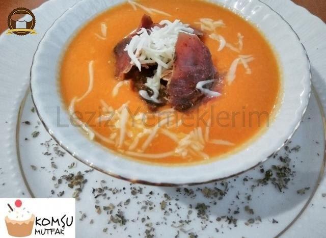 Domatesli Karnabahar Çorbası