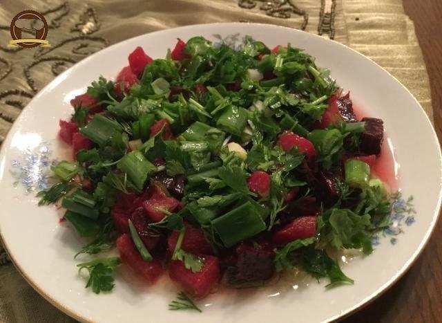 Pancarlı Yerelması Salatası