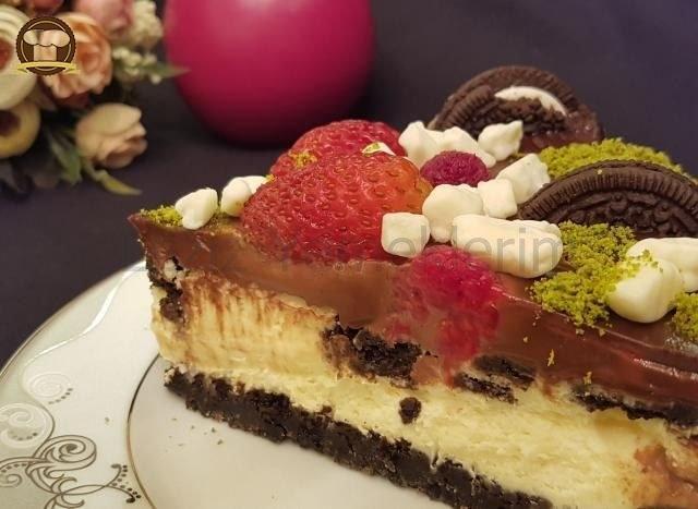 Oreolu Çikolatalı Cheesecake