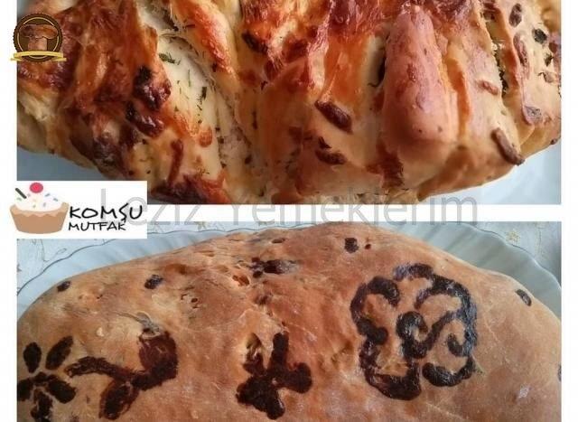 Kırmızı Biber Ve Rokalı Ekmek