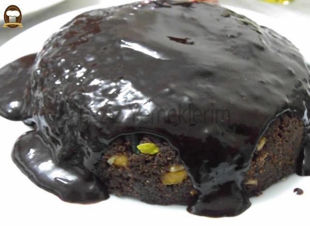 Antep Fıstıklı Islak Kek