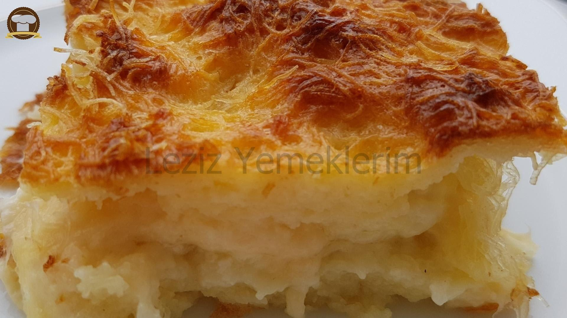 Tel Kadayıf Böreği (peynirli) Tarifi