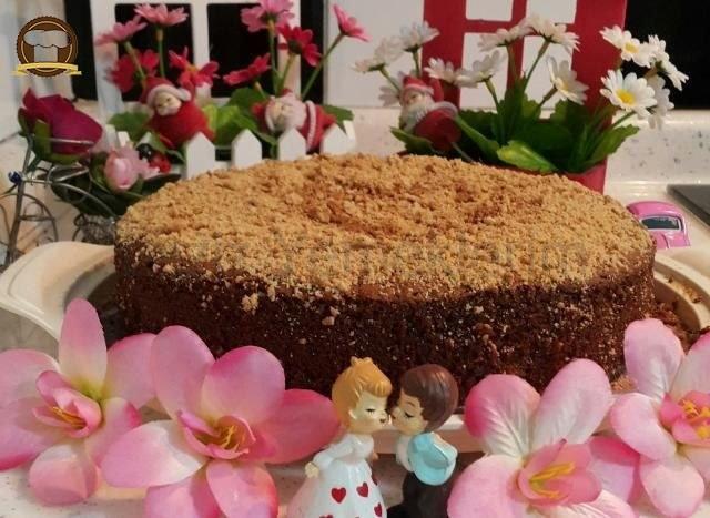 Cevizli Kuru Üzümlü Tarçınlı Kek