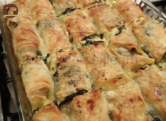 Pırasalı Ispanak Böreği