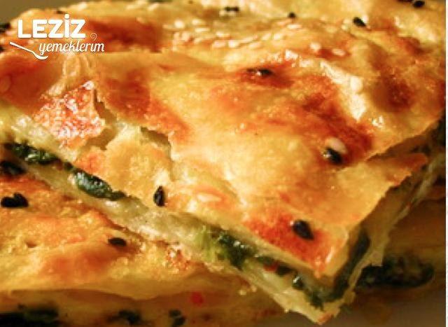 Ispanaklı Selanik Böreği