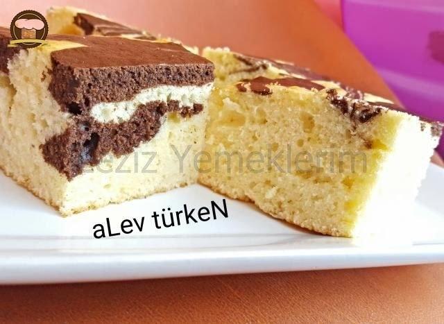 Puf Puf Şahane Tepsi Keki ( Anne Usulü)