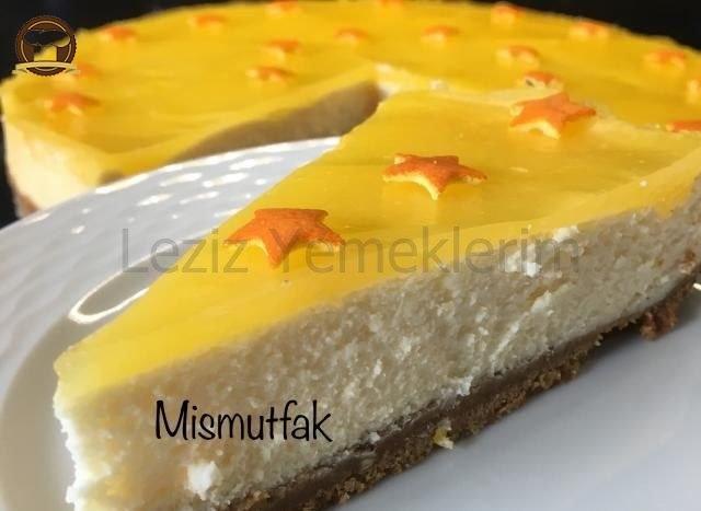 Portakal Ve Limonlu Cheseecake
