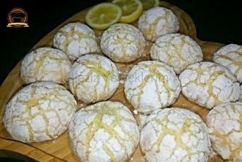Limonlu Çatlak Kurabiye (Nişastasız)