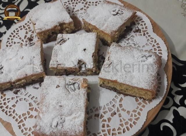 Bisküvi Tabanlı Elmalı Kek