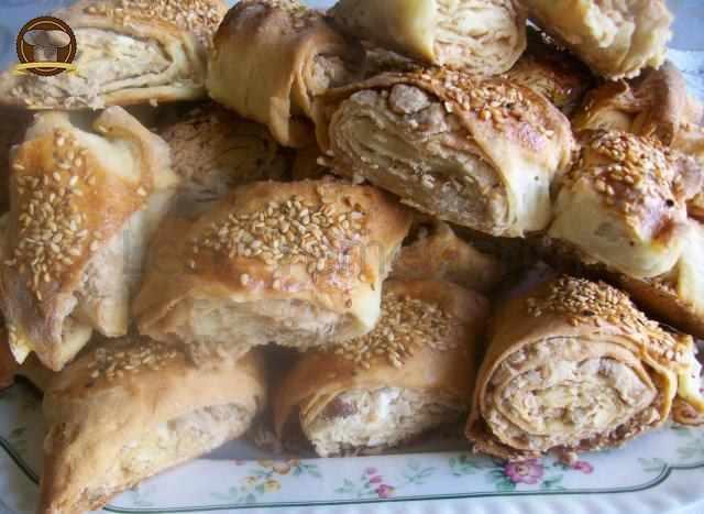 Peynirli Ve Cevizli Çörek