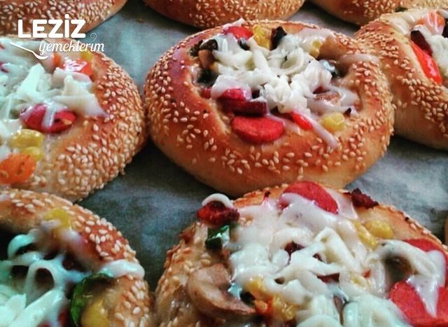 Mini Pizza Yapımı