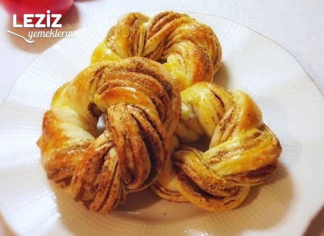 Mayasız Haşhaşlı Mini Çelenk Çörek