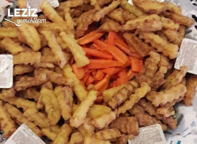 Mısır Unlu Patates Kızartması