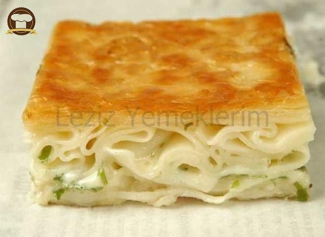 Çeçil Peynirli Su Böreği