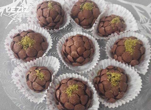Çikolatalı Gevrek Toplar