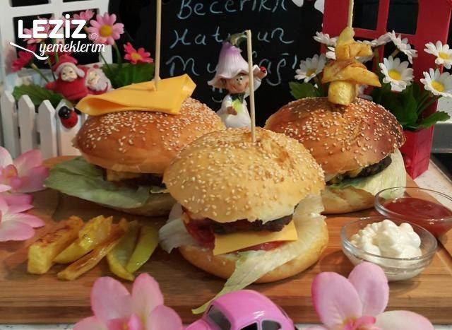 Ev Usûlü Hamburger Tarifi