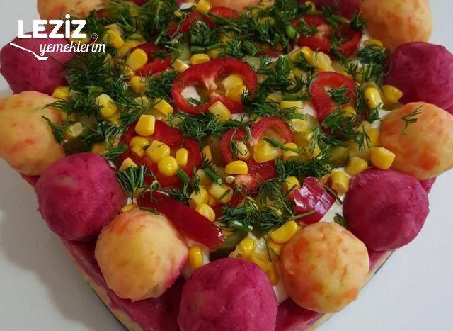 Kalp Patetes Salata