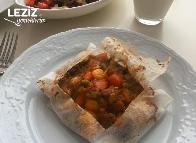 Kağıt Kebabı (Ev Yapımı)