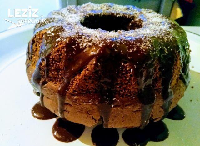 Çikolata Soslu Kek Yapılışı