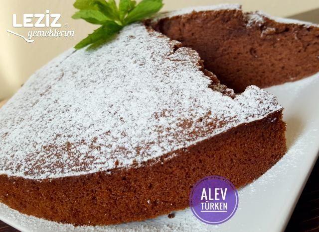 Yumuşacık Kakaolu Pamuk Kek (Nemli Yapıda)