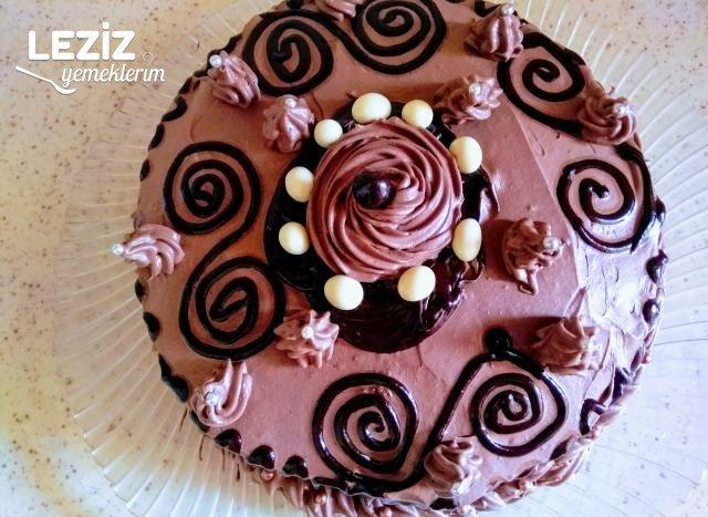 Çikolatalı Yaş Pasta (Aşamalı Anlatım)