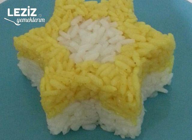 İki Renkli Pirinç Pilavı