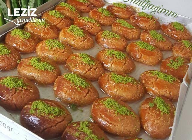 Pastane Usulü Fındıklı Şekerpare