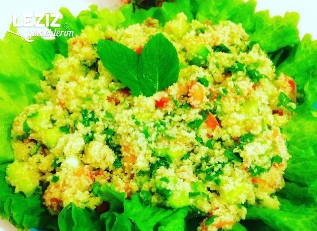 Bulgurlu Yaz Salatası