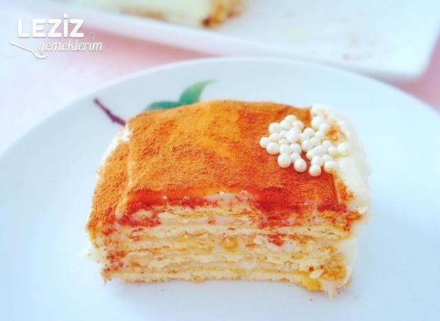 Bisküvili Tavuk Göğsü Pastası