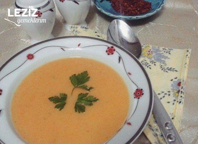 Körili Havuç Çorbası