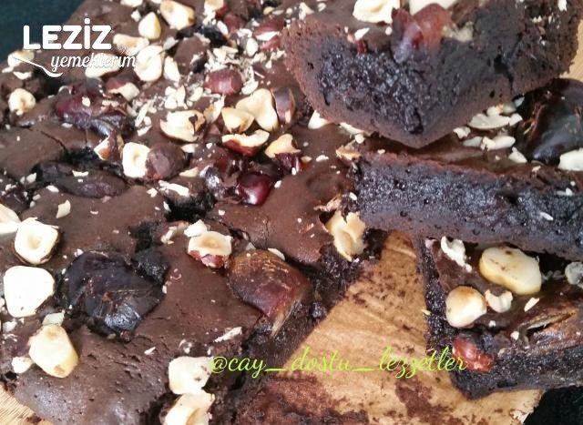 Hurmalı Brownie Tarifi