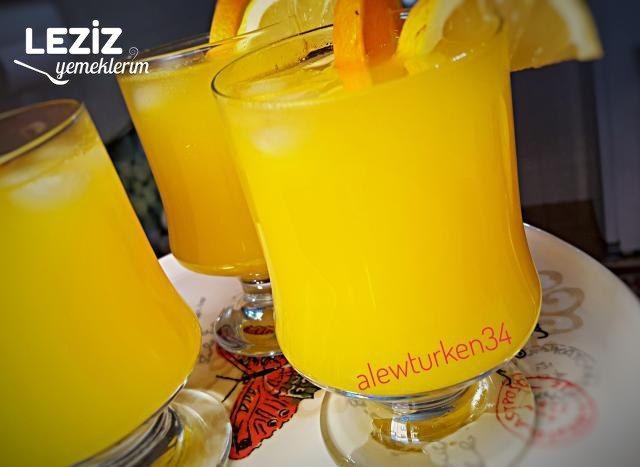 Lezzeti Şahane Portakal Limonatası (2 Litre)