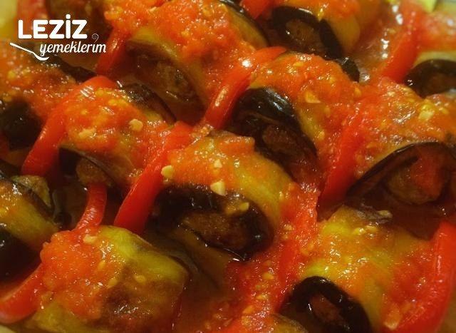 Köfteli Patlıcan Sarma Tarifi