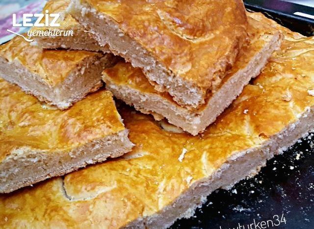 10 Dk'da Nefis Yağlı Tepsi Çöreği (Anne Çöreği)