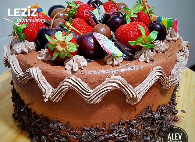 Şahane Duble Çikolatalı Pasta (Aşama Aşama)