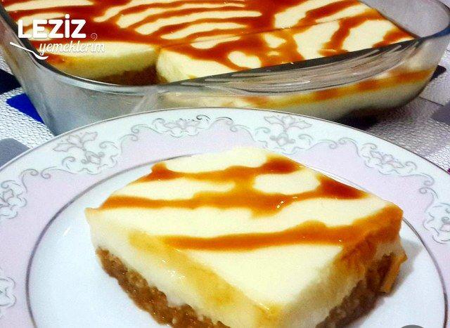 Karamelize Şerbetli Az Malzemeli Etimek Tatlısı