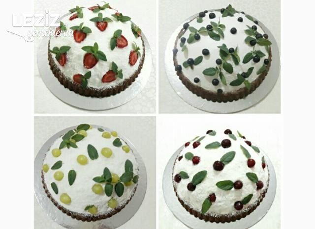 Meyveli Kümbet Pastalar