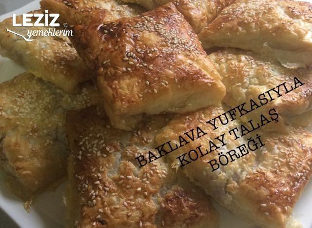 Talaş Böreği (Baklava Yufkasıyla)
