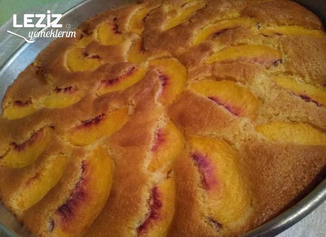 Şeftalili Kek